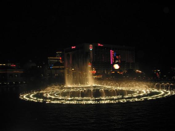 Las Vegas, Lichterspiel in DownTown
