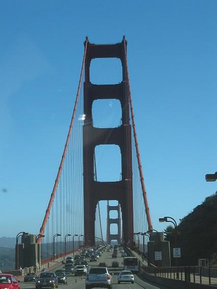 San Francisco Brücke im Norden
